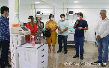 Inaugurado 10 leitos de UTI no HSVP, em Bom Jesus do Itabapoana - Folha de Italva