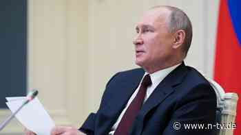 Aber nicht in der Ukraine: Putin bereit für Treffen mit Selenskyi