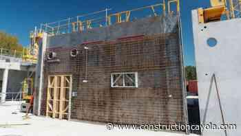 Du ciment décarboné pour un lycée exemplaire à Aizenay - Construction Cayola