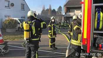 Kranenburg: Pkw bei Brand in Kfz-Werkstatt schwer beschädigt - NRZ