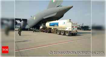 Coronavirus in India live updates: IAF roped in to transport oxygen tanks - Times of India
