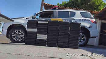 10 horas atrás 79 tabletes de cocaína são apreendidos em Ourinhos - Assiscity