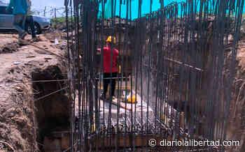 En Galapa, las obras del alcantarillado y la estación de bombeo de aguas residuales tienen un avance del 50% - Diario La Libertad