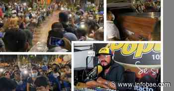 Funeral de prestigioso locutor en Galapa, Atlántico, aglomeró a gran parte del pueblo en el cementerio municipal - infobae