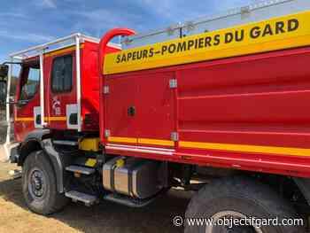 8 avril 2021 BEAUCAIRE Un feu se déclare dans un bâtiment ancien - Objectif Gard