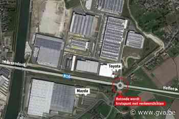 Rotonde verdwijnt voor kruispunt met verkeerslichten (Willebroek) - Gazet van Antwerpen