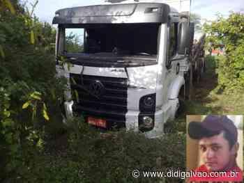 Caminhoneiro de Orocó morre de acidente de trânsito nas proximidades de Arcoverde - Blog do Didi Galvão