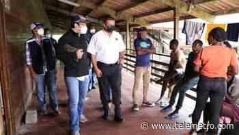 Defensor constata mejoras a estación de migrantes de Gualaca - Telemetro