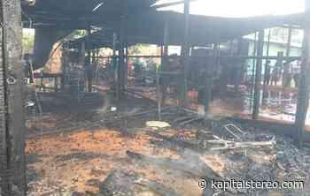 Incendio consumió dos casas en el municipio de Saravena. - Kapital Stereo