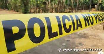 Hallan cadáver en descomposición en Jucuapa, Usulután - Solo Noticias