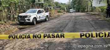 Dos pandilleros mueren tras enfrentamiento con agentes de la PNC en Jucuapa, Usulután - Diario La Página