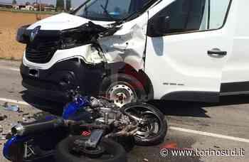ORBASSANO - Incidente sulla provinciale 142: centauro in ospedale - TorinoSud