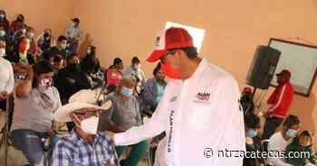 Ha recorrido Alan Murillo casi 30 comunidades de Sombrerete - NTR Zacatecas .com