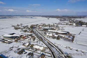 Foto 13 feb Nieuwsfoto's: Sneeuwpret en -leed op de boerderij - Boerderij
