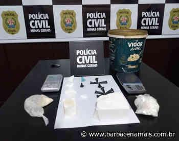 Polícia Civil apreende cocaína escondida em Conselheiro Lafaiete - BarbacenaMais