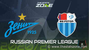 2020-21 Russian Premier League – Zenit vs Rotor Volgograd Preview & Prediction - The Stats Zone