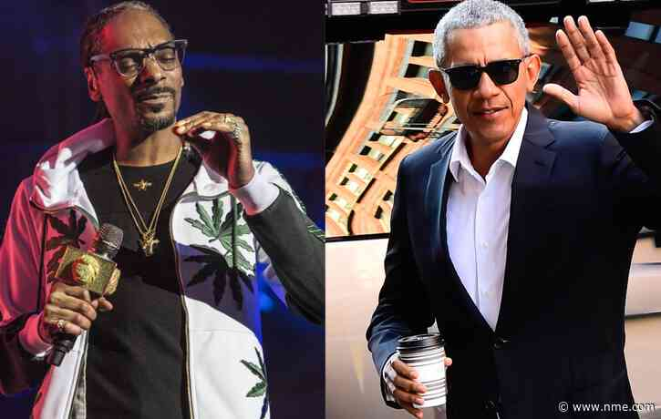 Snoop Dogg hints he smoked weed with Barack Obama in new song 'Gang Signs'