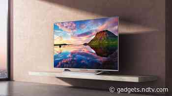 Mi QLED TV 75 Ultra-HD HDR Smart Android TV Launched in India, Priced at Rs. 1,19,999