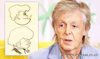 'Early Beatles' unmasked: Paul McCartney's teenage sketch unveils 'aesthetic' of stars - Express