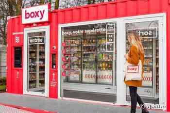 Boxy, une supérette connectée et sans caissier débarque à Mareuil-lès-Meaux - actu.fr