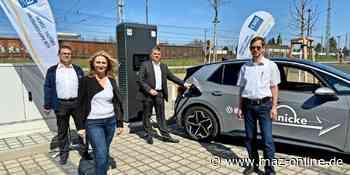 Neues Angebot für Elektroautos: EMB nimmt Mittelmarks leistungsstärkste Ladesäule in Michendorf in Betrieb - Märkische Allgemeine Zeitung
