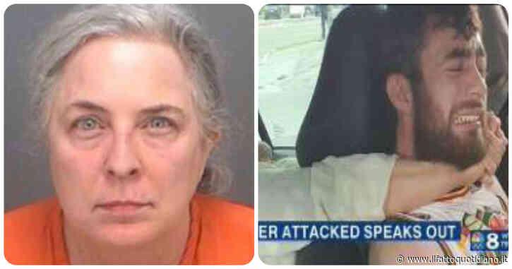 """Infermiera di 55 anni tenta di strangolare giovane autista Uber: """"Morso al collo come un pitbull"""""""