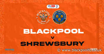 Preview: Shrewsbury Town  (H)