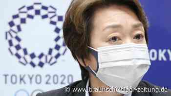 Corona-Notstand in Tokio: Japan-Olympia-Chefin: Denken nicht an Absage