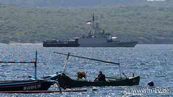 """Hoffnung bei Suche nach U-Boot: Helfer melden """"magnetisches Objekt"""" vor Bali"""
