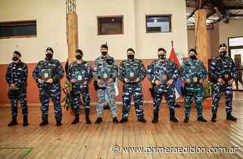 Policías reconocidos por su destacado accionar en la tierra colorada - Primera Edicion