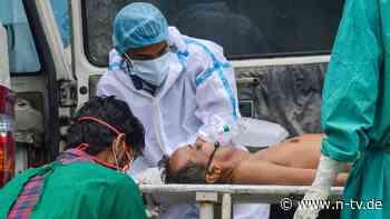 """""""SOS - Brauchen sofortige Hilfe"""": Indiens Kliniken senden Sauerstoff-Hilferuf"""