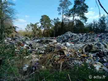 Orry-la-Ville : une marche pour réclamer le nettoyage immédiat de la décharge sauvage - actu.fr