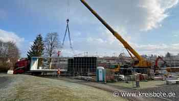 Ausweichschule zum Neubau der St. Martin-Grundschule in Marktoberdorf aufgestellt - Kreisbote