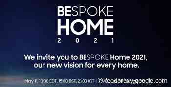 Samsung Bespoke Home event announced for May 11th