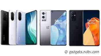 Mi 11X Pro vs OnePlus 9 Pro vs OnePlus 9: Price in India, Specifications Compared