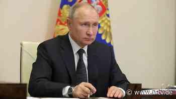 "Infektionszahlen sollen sinken: Putin verordnet Russen ""Corona-Ferien"""