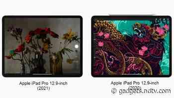 iPad Pro 12.9-inch (2021) vs iPad Pro 12.9 (2020): Price, Specifications Compared
