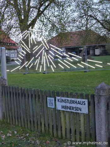 """Lichtinstallation """" Die Welle """" in Meinersen - Lehrte - myheimat.de - myheimat.de"""