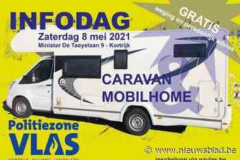 Politiezone Vlas organiseert infodag voor caravans en mobilhomes