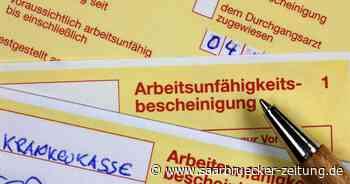 Saarland: Krankheitsbedingte Fehltage in Neunkirchen am höchsten - Saarbrücker Zeitung