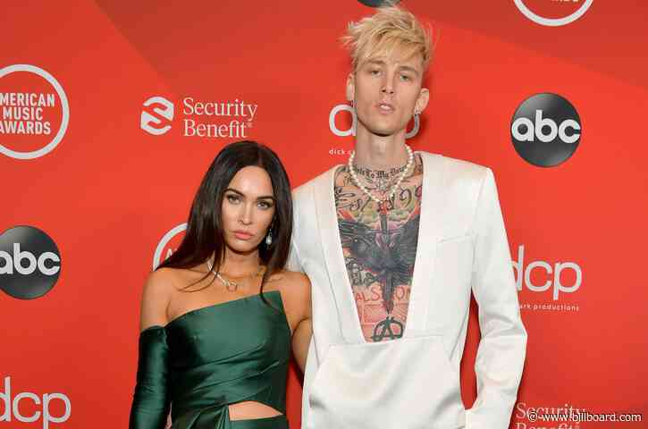 Megan Fox Wishes a Happy Birthday to Her 'Blonde Angel Baby' Machine Gun Kelly