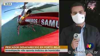 Pescador desaparecido em Porto Belo - ND Mais