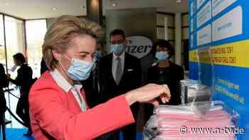 Von der Leyen zieht EU-Ziel vor: Im Juli soll Großteil Erwachsener geimpft sein