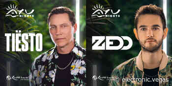 Initial dates revealed for Zedd and Tiesto residency at Resorts World - electronic.vegas