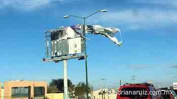 #Juarez   Emiten autoridades alerta amarilla por fuertes vientos en la ciudad - Adriana Ruiz