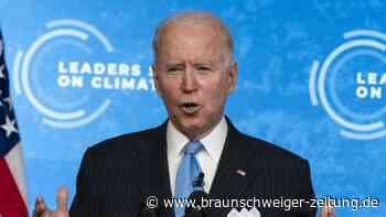 Online-Klimagipfel: Biden: Kampf gegen Klimakrise birgt wirtschaftliche Chancen