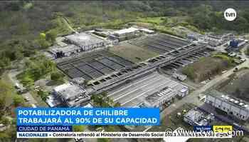 Idaan anuncia que potabilizadora de Chilibre trabajará al 90 % tras daño en motor - TVN Noticias