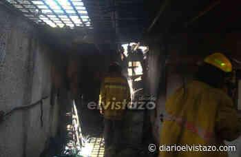 Incendio en área del lavandero deja un lesionado en El Palomar 2 - Diario El Vistazo