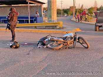 Muere motociclista en Nueva Rosita – La Prensa de Monclova - La Prensa De Monclova