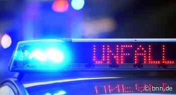 Ein Leichtverletzter nach Auffahrunfall in Stutensee - BNN - Badische Neueste Nachrichten